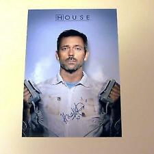 """HOUSE M.D. PP SIGNED POSTER 12"""" X 8"""" HUGH LAURIE N3"""