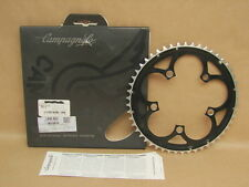 New NOS Campagnolo Bicycle 07-10 Cen, Velo 2x10sp 110 BCD 50T Black Chain Ring