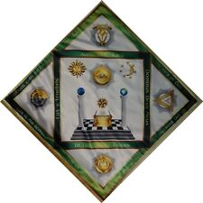 Unique The altar tablecloth Masonic Degrees N4 -  18,19,20,21,22
