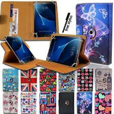 """Folio Rotating 360 Stand Leather Cover Case For Various 7"""" Samsung Galaxy Tab"""