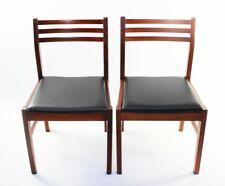 Pair of Retro Danish Style Teak Dining Chairs [ 5852 C ]