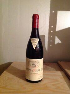 Château Fonsalette 2006 (frais envoi 6€/3 bouteilles)