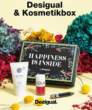 DESIGUAL Kosmetik-Box Geschenkset Make-Up Set, Bodylotion+Nagellack+Lidschatten