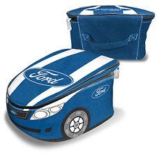 FORD Novelty Car Drink Holder Lunch Food Cooler Bag Camping BBQ Man Cave Gift