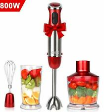 Koios Powerful 500 Watt Immersion Blender Setting 6-Speed Multi-Purpose 4-in-1