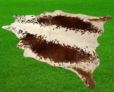 """New Cowhide Rugs Area Cow Skin Leather 14.69 sq.feet (46""""x46"""") Cow hide A-5954"""