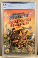 🍁 Picture Stories From American History #3 (EC, 1947) CGC 8.0 VF O/W Pages