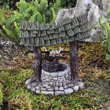 Miniature Mini Wishing Well  GO 17396  Fairy Garden Dollhouse Terrarium