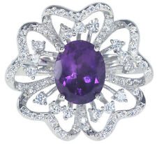 Handmade Cluster Fine Gemstone Rings