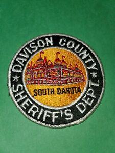Davidson County Sheriff's Dept South Dakota Patch