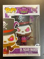 FUNKO POP DISNEY DR FACILIER MASKED PRINCESS FROG - MINT BOX
