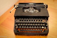 Vintage L C and Corona Typewriters Inc. with orifginal case