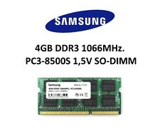 Samsung 4GB (1x 4GB) DDR3 1066MHz (PC3 8500S) SO Dimm Notebook Laptop Memory