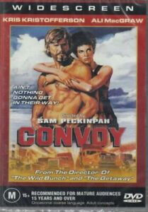 Convoy DVD Kris Kristofferson Brand New and Sealed Australia