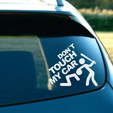 Car Pickup Truck SUV Exterior Window Rear Windshield DON'T TOUCH MY CAR Sticker