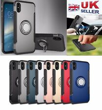"""Shockproof Tough Magnetic Back Stand Case Cover for iPhone X/ 7 8 4.7""""/ 7 8 Plus"""