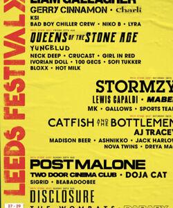 1 x leeds festival tickets friday, saturday + sunday