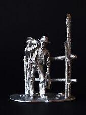 Old West: Cowboy KIT Tin toy soldier 54 mm. metal