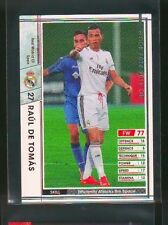 2014-15 Panini WCCF Raul de Tomas rookie card Real Madrid