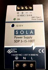 Sola Power Supply Sdp 3 15 100t