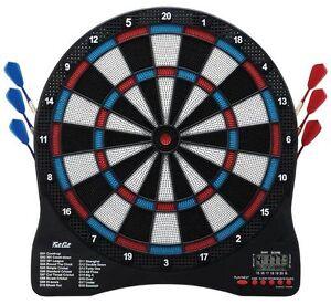 "Fat Cat Sirius 13"" Electronic Dartboard 42-1029  darts flights tips"