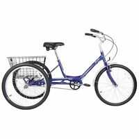 "New Adult Evo Latitude 1 24"" Quality Tricycle  /  Trike Bicycle"
