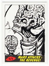 2017 TOPPS MARS ATTACKS THE REVENGE Robert Jimenez 1/1 Sketch Card