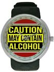 CAUTION: CONTAINS ALCOHOL Watch