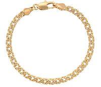 New 9ct Gold Filled Bismark Link Bracelet  For Women B479
