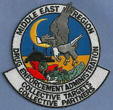DEA DRUG ENFORCEMENT ADMINISTRATION MIDDLE EAST REGION POLICE PATCH