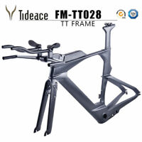 2018 Carbon Triathlon&Time Trial&TT Bike Frame&Fork T800 TT Carbon Frameset  OEM