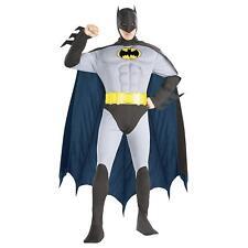 Rubies Mens Deluxe Muscle Chest Batman Adult Costume (Batman, Medium)