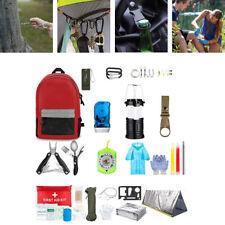 Outdoor Survival Kit Taktische Ausrüstung Erste Hilfe Survival Camping Set
