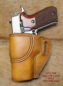"""Gary C's Leather Avenger OWB Left Hand HOLSTER Sig Sauer P220 Full Size 4.4"""""""