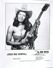 MISSISSIPPI BLUES PHOTO: JESSIE MAE HEMPHILL High Water Records (Memphis State)