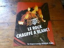KILLDOZER - Publicité de magazine / Advert ROCK CHAUFFE A BLANC !!