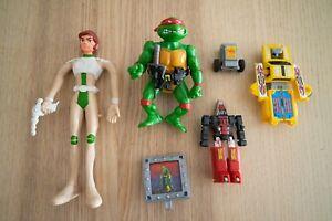 Mattel FUTURO Capitaine Flam Bendable Flexi VINTAGE secret war gobots no popy