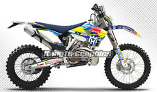 2014 2015 2016 Husqvarna TC FC TE FE 125 250 300 350 450 501 Graphics Decal Kit