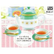 Toys spirits traditional english afternoon tea mascot capsule Miniature RARE No4