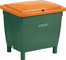 Craemer Streugutbehälter 400l grün/orange Streugutbox Streugutkiste Streubox