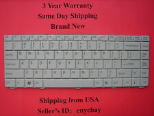 NEW SONY VAIO VGN-NR VGN-NS WHITE LAPTOP KEYBOARD 148057921 148706121 148706321