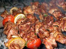20 BBQ STICKS  SKEWERS STAINLESS FLAT SHISH KEBOB KEBAB KABAB SOUVLAKI SHASHLIK