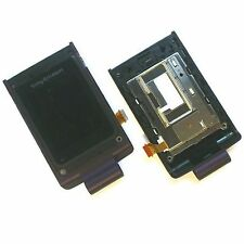100% ORIGINALE SONY ERICSSON W380i INNER MAIN SCHERMO LCD Display Panel Vetro + Hinge