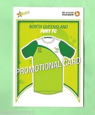 #D80.  2009 SOCCER FOOTBALL  PROMOTIONAL CARD - NORTH QUEENSLAND FURY