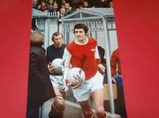 Bob Wilson & Frank McLintock Arsenal FC Legends signed photo AFTAL  SALE!!