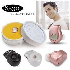 Wireless Mini Bluetooth 4.1 Stereo In-Ear Canal Earbud Headset Earphone Earpiece