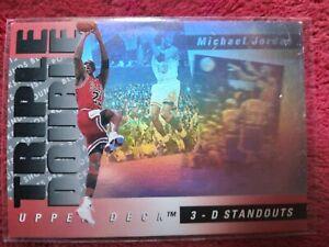 Michael Jordan Upper Deck 1993 Triple Double Holo TD2. LIRE description