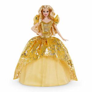 Mattel Barbie Signature Holiday Barbie Puppe (blond) 15862615 NEU/OVP