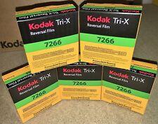 5 Rolls Kodak Tri-X Super 8mm Black & White Reversal Film 7266 Official Reseller