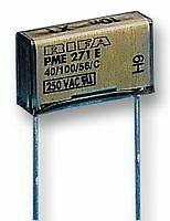 2x PME261KA5100KR19T0 Capacitor paper 10nF Pitch10.2mm /±10/% THT 220VAC KEMET